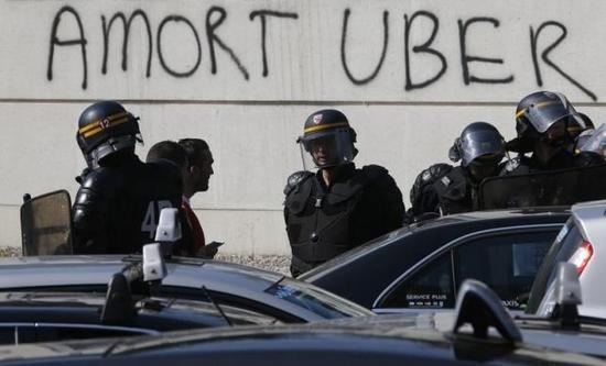法国说非专业司机不得开专车 Uber很失望