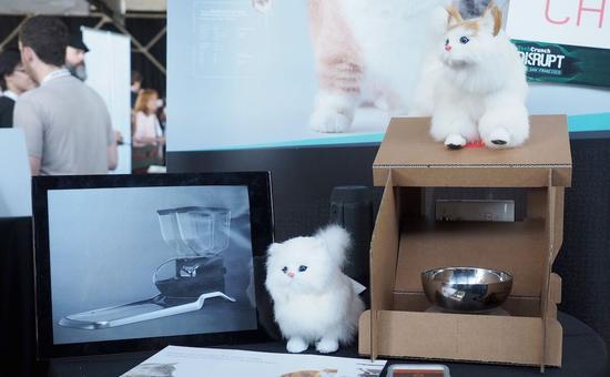 和谷歌Cardboard都是纸质 喵星人喂食器来了
