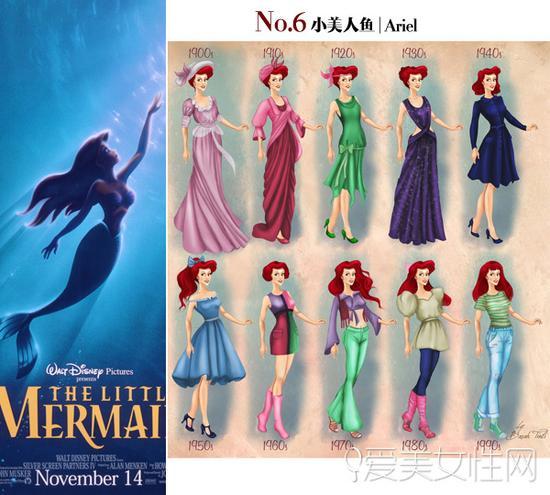 30年代时尚_迪士尼公主换新装|迪士尼公主|新衣|造型_新浪时尚_新浪网