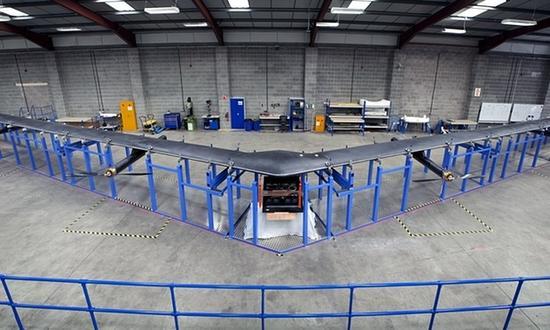 谷歌和Facebook注册新无人机:都能提供宽带服务