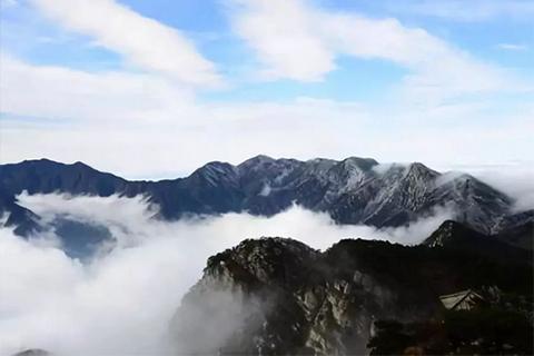 ▲江西庐山美景 图片来自新华社