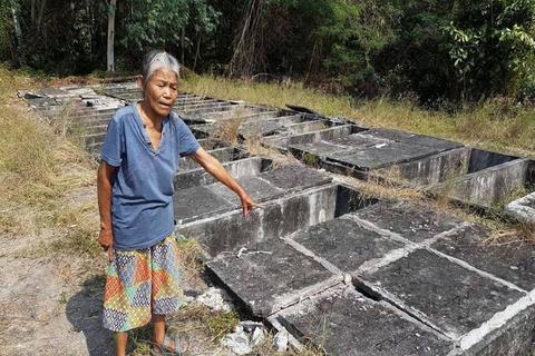 被盗墓地(来源:泰国每日讯休网)