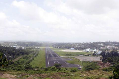 安达曼和尼科巴群岛上的印度军事基地(图:路透社)
