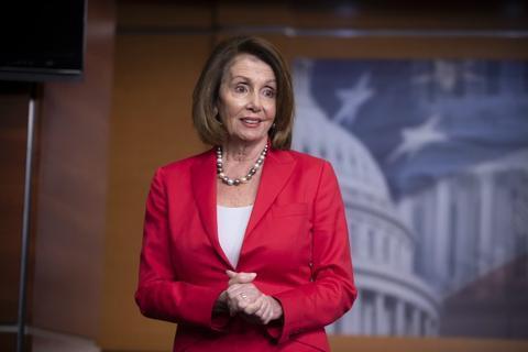 美国国会众议院议长南希·佩洛西。(图源:美联社)