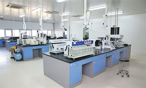 图为青岛百洋制药生产车间。 吴佳佳摄
