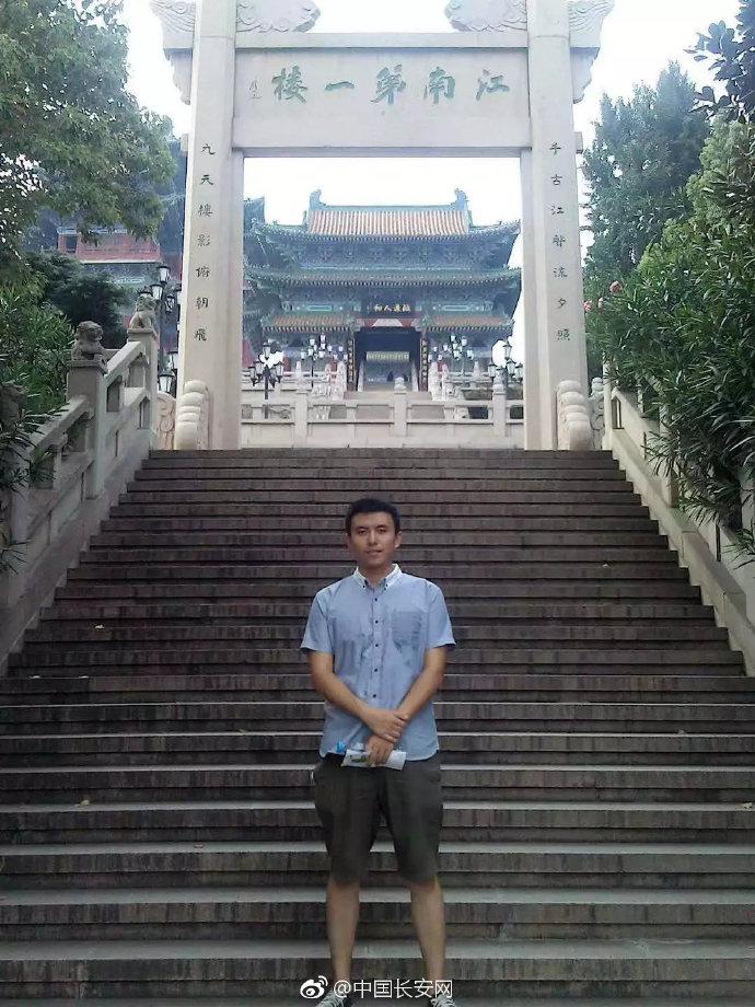 王琰。图片来源:中国长安网微博