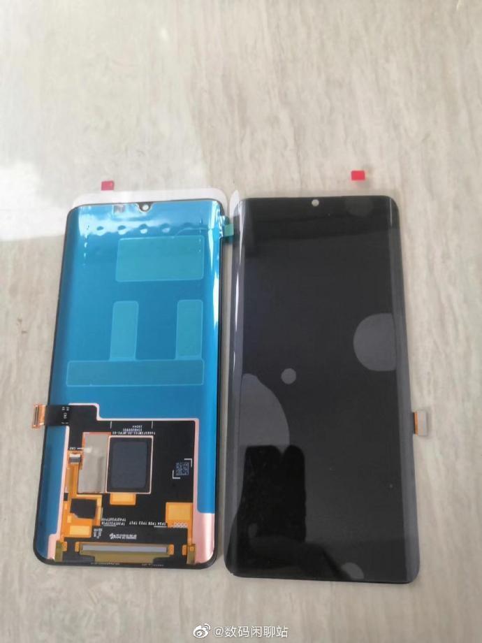 小米CC9 Pro屏幕组件曝光 搭载后置五摄+50倍数字变焦