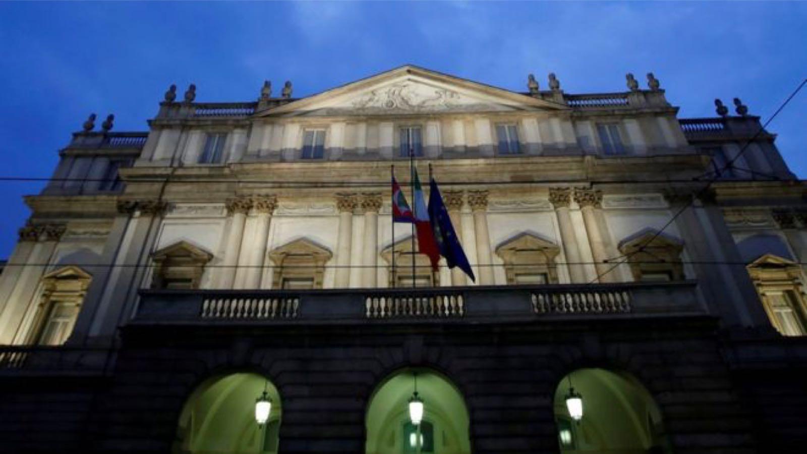 意大利米兰著名歌剧院斯卡拉歌剧院 图源:路透社