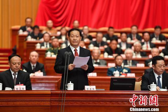 四川省委书记彭清华出席大会。 张浪 摄