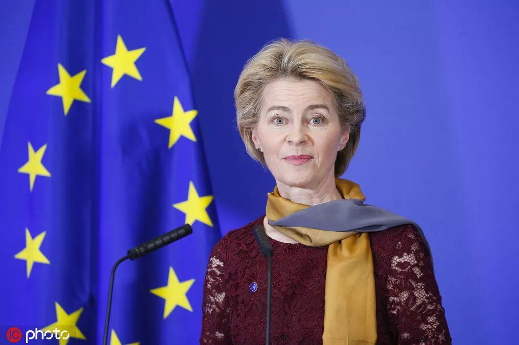 欧盟首位女主席上任:将在气候议题上挑战中美