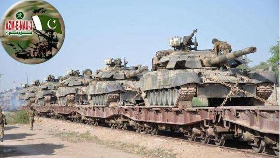 原料图片:巴基斯坦陆军装备的T-80UD坦克群。(图片来源于网络)