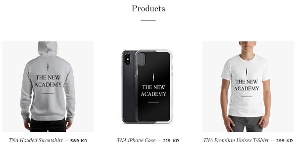 帽衫、T恤、手机壳等周边商品