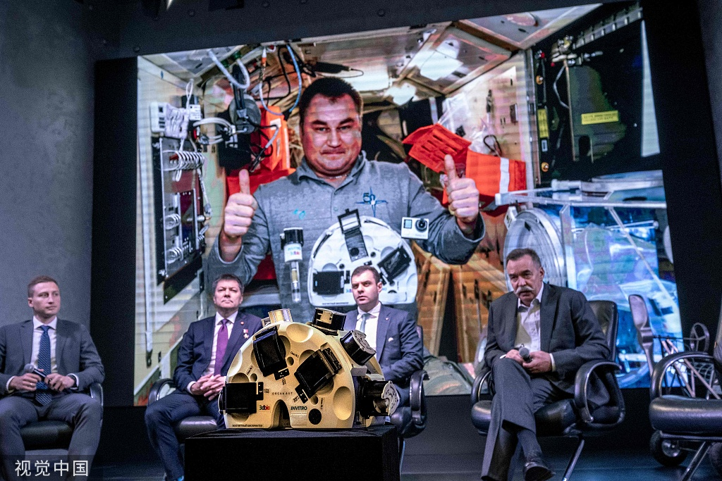 人造肉首次在空�g站3D打印成功 或可供宇航�T食用