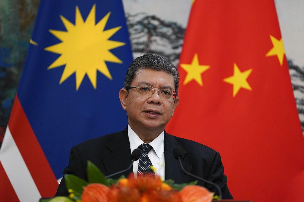 马来西亚从视觉中国外交部长钱包锡Htut