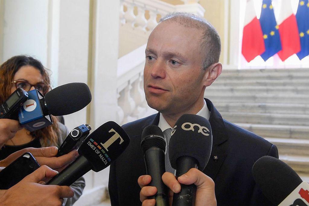 当地时间11月26日,马耳他总理穆斯卡特确认,办公室主任斯肯布里已经辞职。图/视觉中国