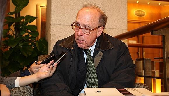 2013年03月23日,北京,耶鲁大学杰克逊全球事务钻研所高级钻研员斯蒂芬·罗奇(Stephen Roach)。图片来源:视觉中国