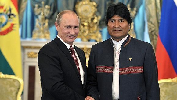 俄暫時承認玻利維亞新總統 普京憂利比亞劇本重演