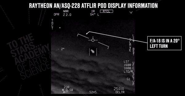F-18战机曾遭遇UFO?美国国会被曝考虑举行听证会