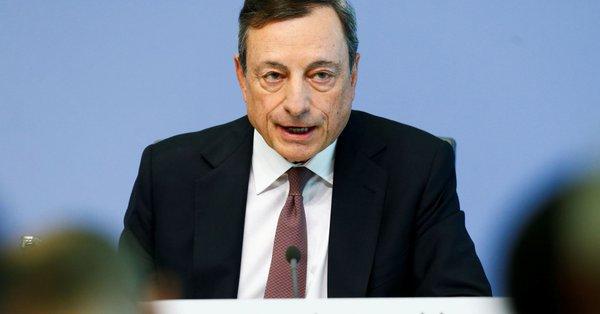 欧洲央行行长德拉基警告通胀率升势恐放缓 因前景笼罩乌云|外汇基础