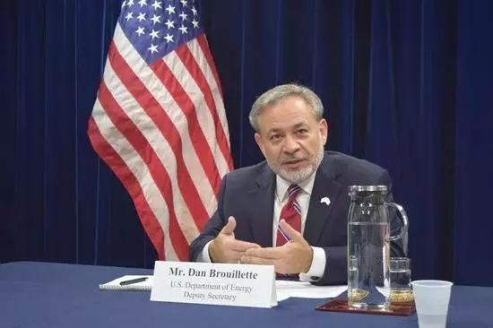 ▲美国能源部副部长丹·布鲁耶特