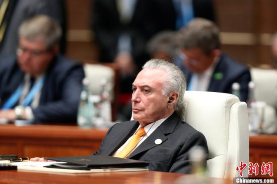 任�壬嫦犹案�案 巴西前总统特梅尔在圣保罗被拘捕