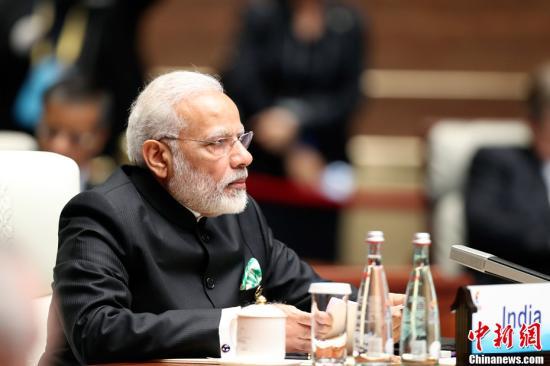 资料图:印度总理莫迪。中新社记者 盛佳鹏 摄