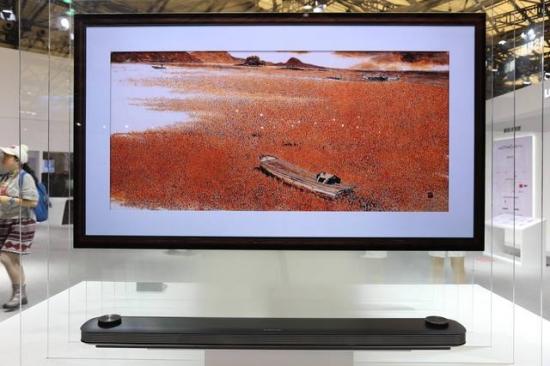 OLED壁纸电视