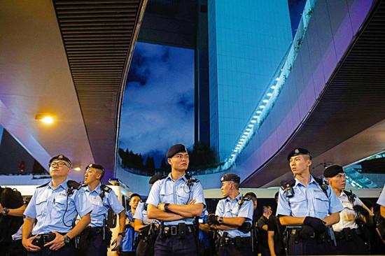 图为香港警队资料图