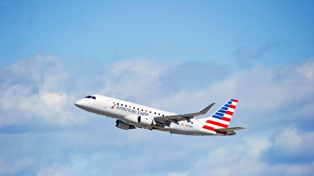 美鹰航空客机 图源:CNN