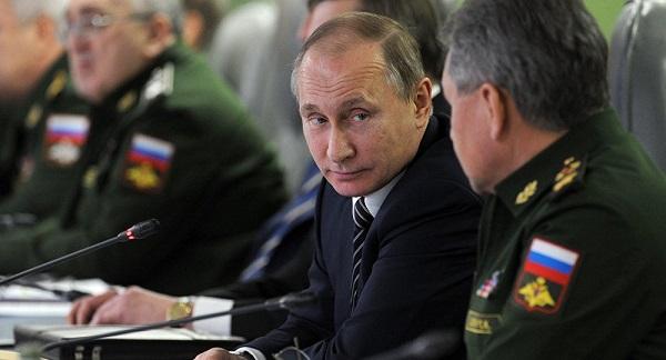 俄罗斯总统普京(图源:俄罗斯卫星通讯社)