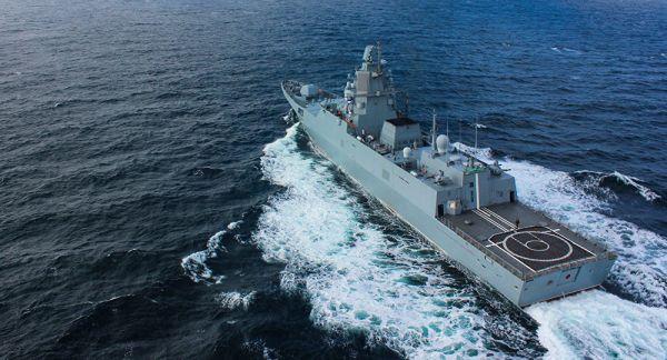 俄罗斯海军作战舰艇(俄罗斯国防部网站)