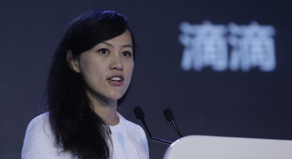 滴滴总裁柳青 视觉中国 资料