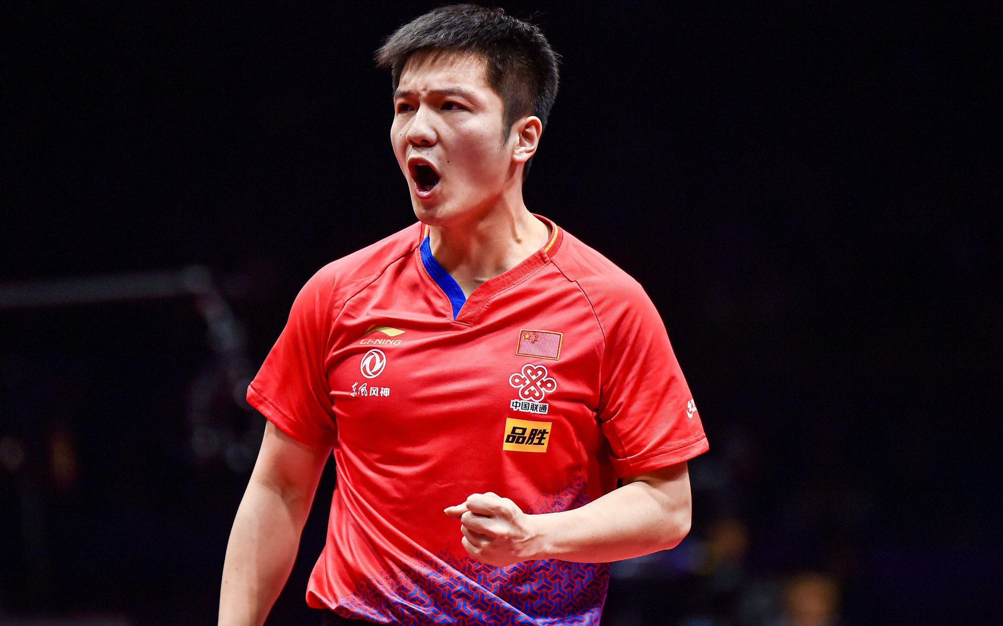 樊振东第3次夺【得】世界杯冠军。图/Osports