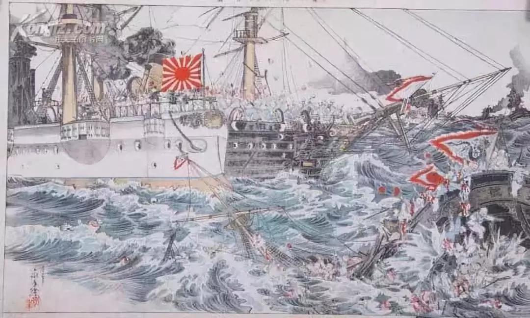 軍媒國際博物館日刊文示警:還有一枚鎮遠艦鐵錨在日本神社裡