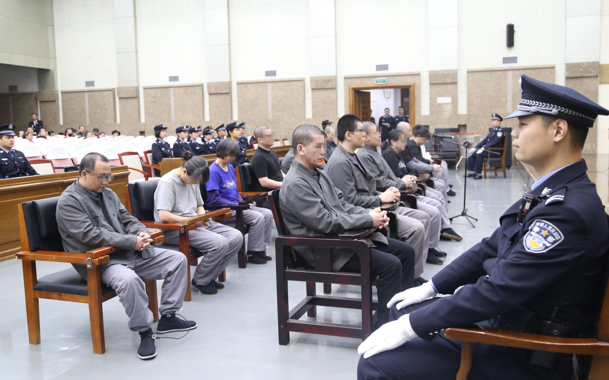 庭审现场。来源:房山法院