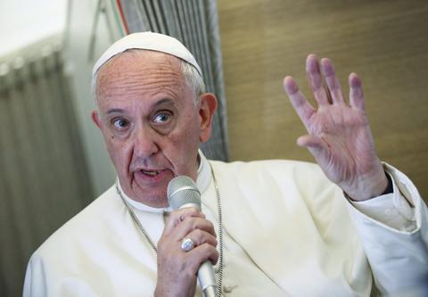 教皇方济各访问美国(纽约时报)