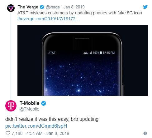 测速报告劝AT&T诚实对客户:5G E网络并没有那么快