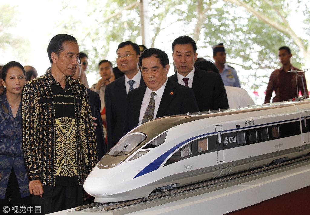 中国承建印尼高铁项目引日媒赞叹:技术惊艳世界