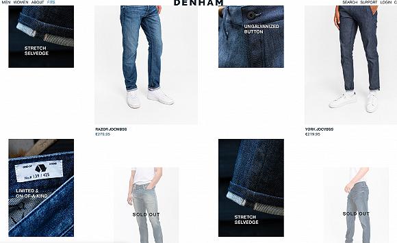 赫基集团收购的牛仔品牌Denham推出全球首款可生物降解弹力牛仔裤,目前已上市