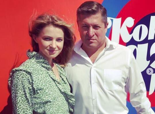 波克隆斯卡娅与丈夫(图源:社交媒体)