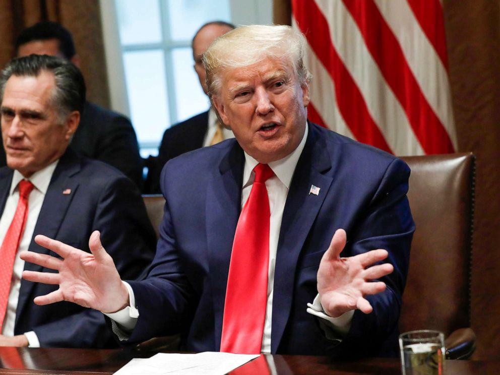 美国总统特朗普(图片来源:美国广播公司)
