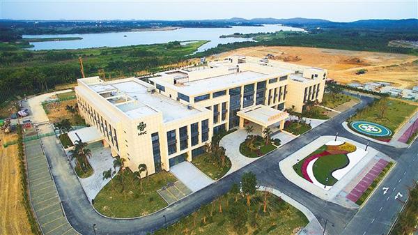 博鳌乐城国际医疗旅游先行区。海南日报 图