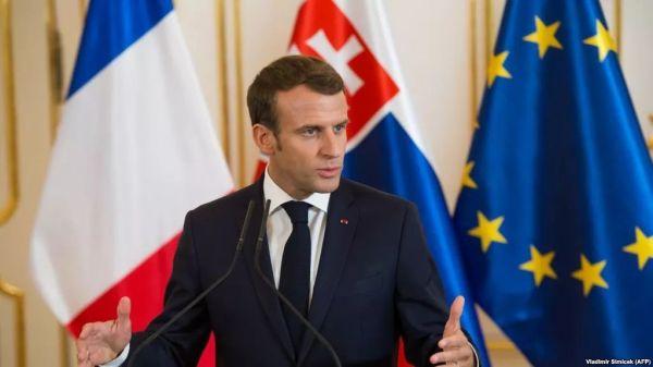 资料图片:法国总统马克龙。(图片来源于网络)
