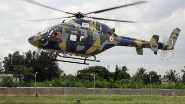原料图:印度轻型通用直升机(LUH)。