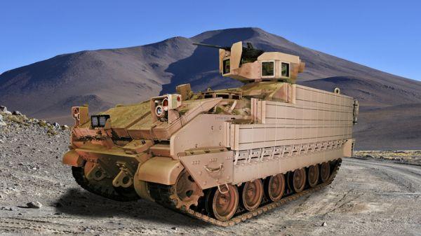 美國陸軍新型多用途裝甲車(AMPV)。