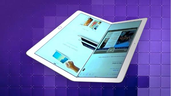 可折叠iPad渲染图(图源cnet)
