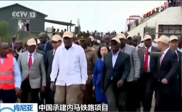 """创造东非""""新时速"""" 中国承建肯尼亚内马铁路全面铺开"""