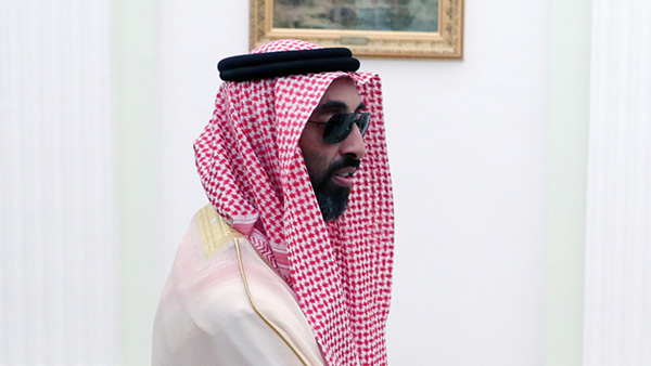 阿联酋国家安全顾问塔赫农·本·扎耶德。IC 资料