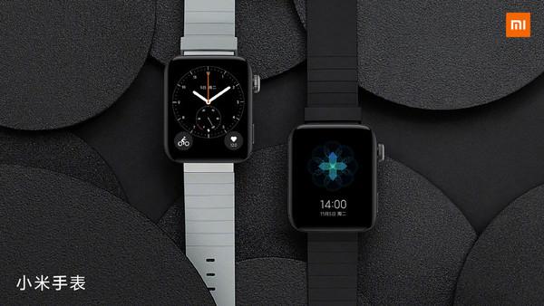 小米手表外觀方形表盤靈感源于小米4