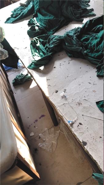 卧底江西三甲医院洗涤厂:带血床单手术服混洗遭污染